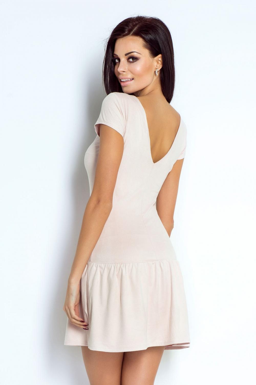 95a5db5775 Sukienki   197-PUDROWY RÓŻ
