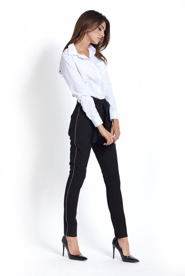Spodnie T12-CZARNY