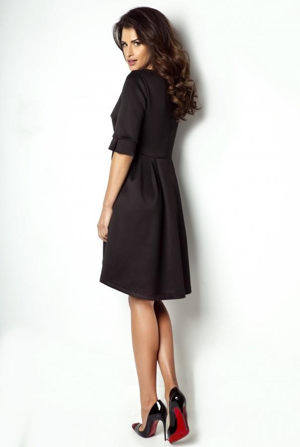 Sukienka 173-CZARNY