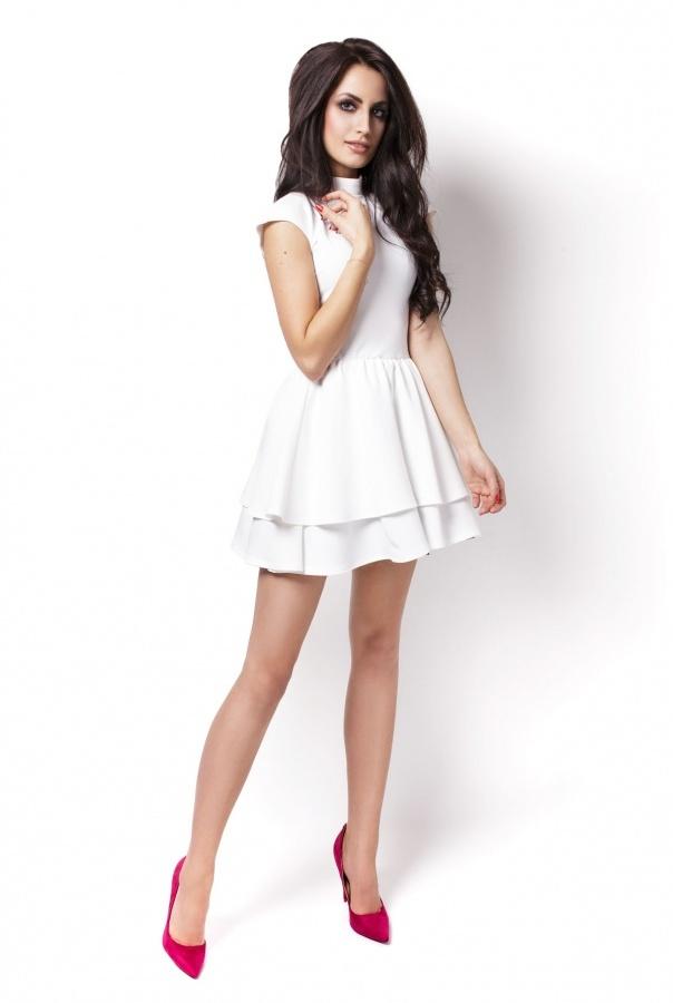 Sukienki 200-ECRU