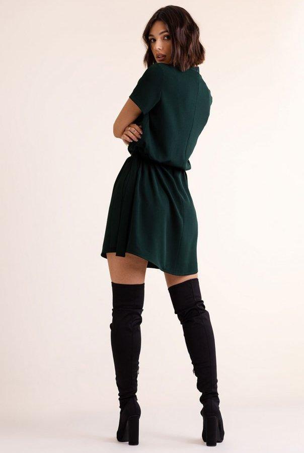 Sukienki 292-ZIELONA