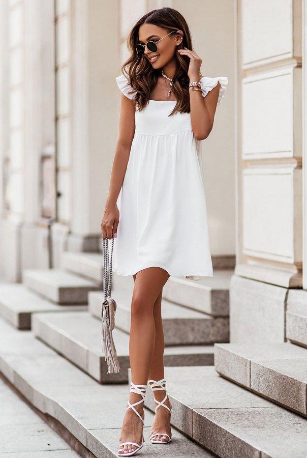 Sukienka NOEL 303-CREAM