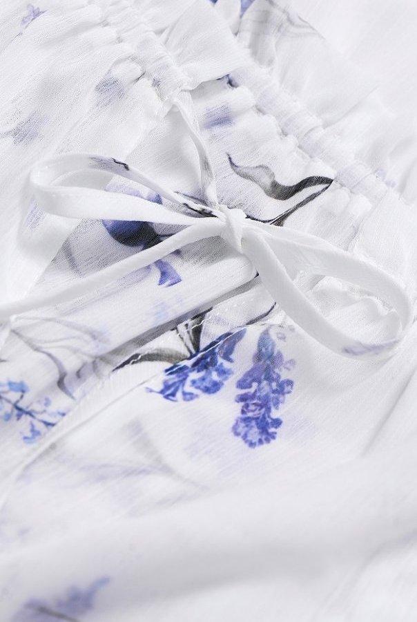 Sukienki 279-BIAŁY
