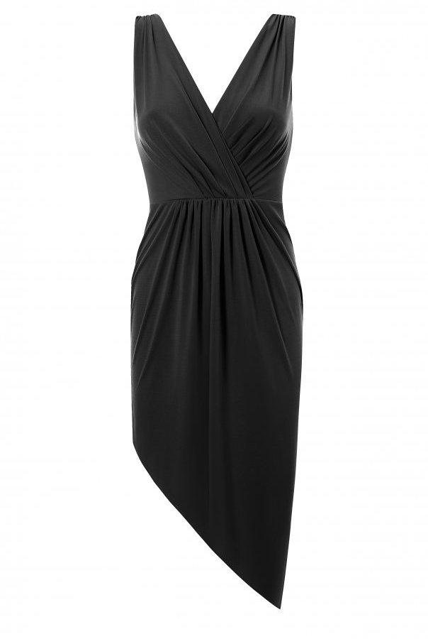 Sukienki 283-CZARNY