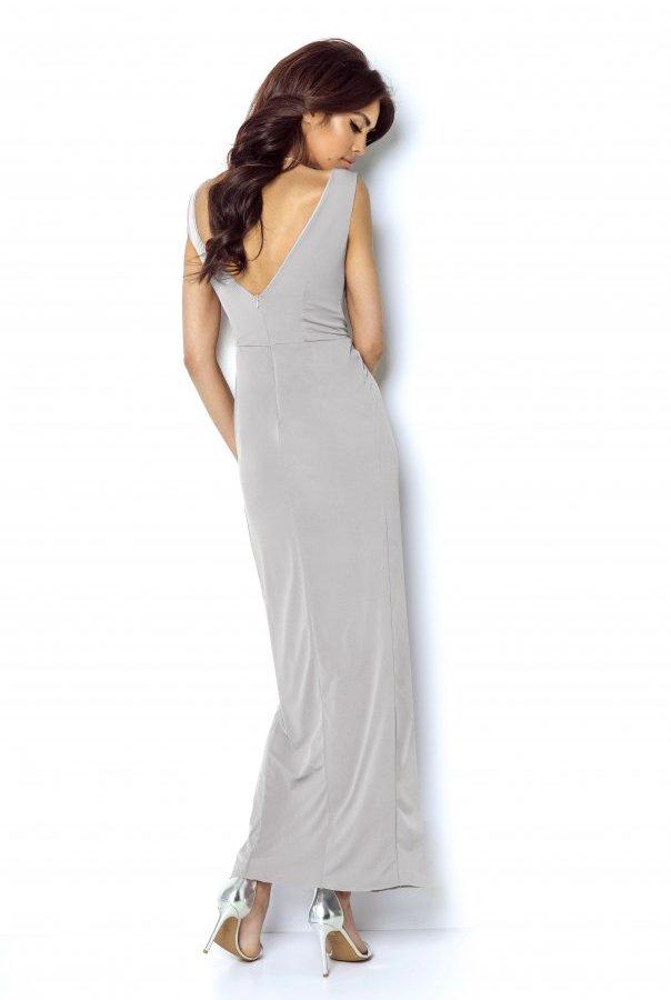 Sukienki 217-SZARY