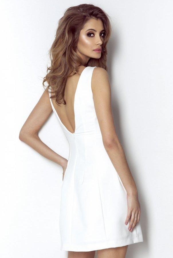 Sukienki APRIL-ŚMIETANKA