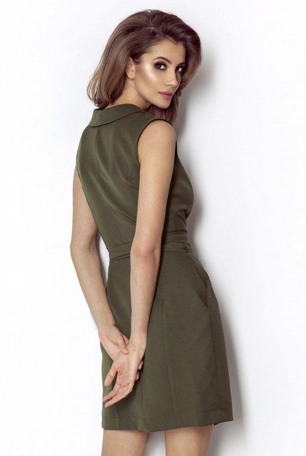 Sukienki SUZANNE-KHAKI