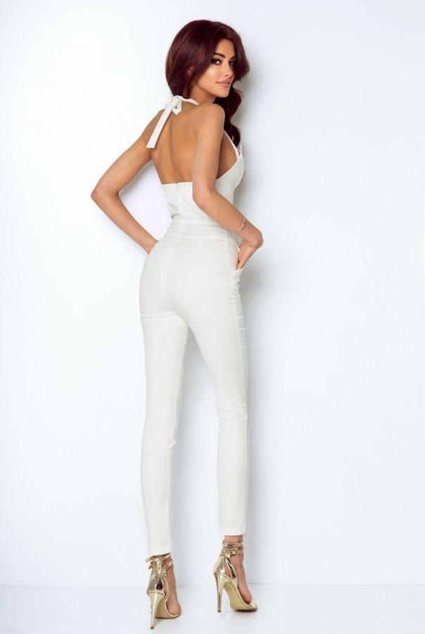 Spodnie T09-ŚMIETANKOWY