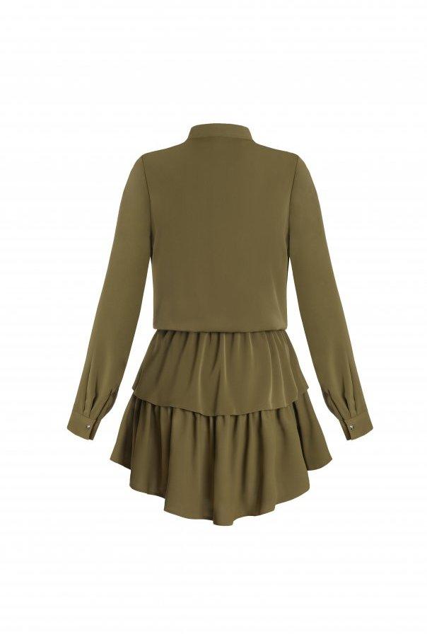 Sukienki 274-KHAKI