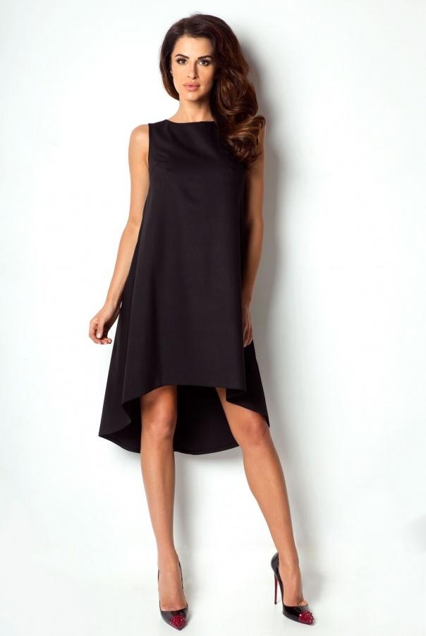 Sukienki P2-CZARNY