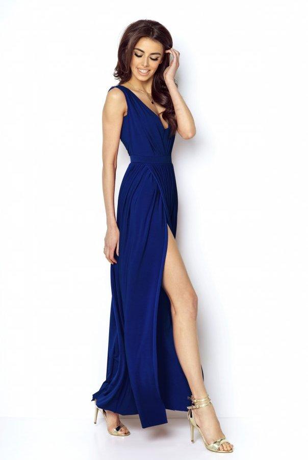Sukienki 218-KOBALTOWY