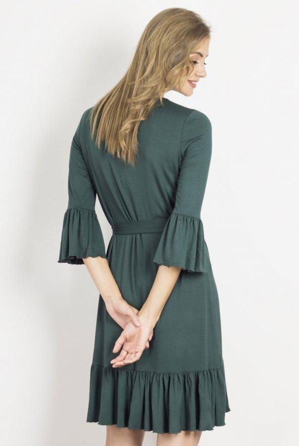 Sukienki SHIRA-ZIELONY