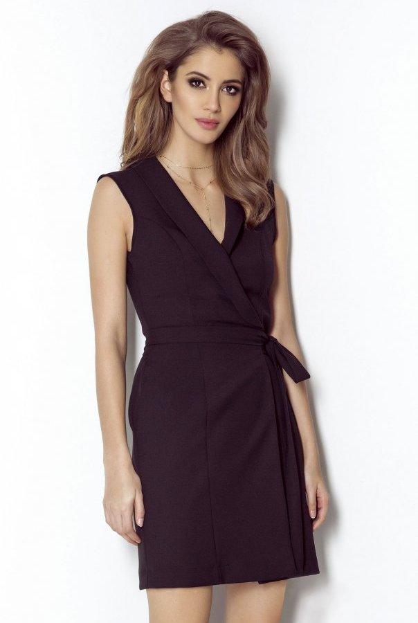 Sukienki SUZANNE-CZARNY