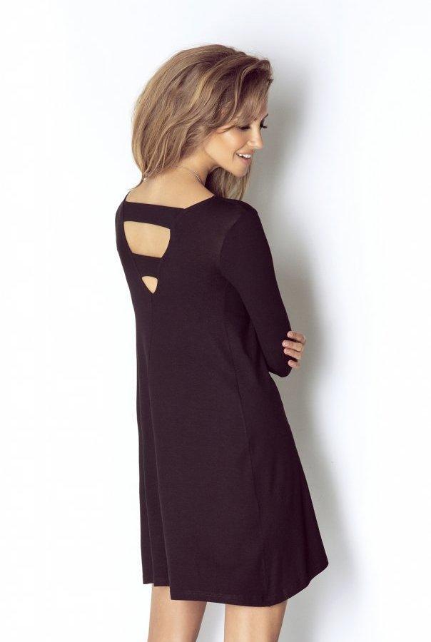 Sukienki CELINE-CZARNY
