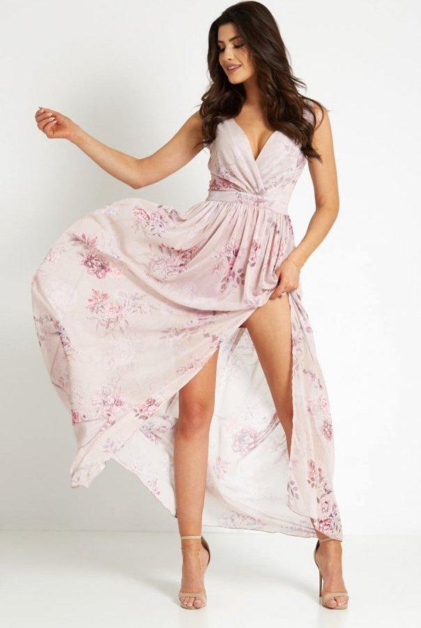 Sukienki 295-KWIATY