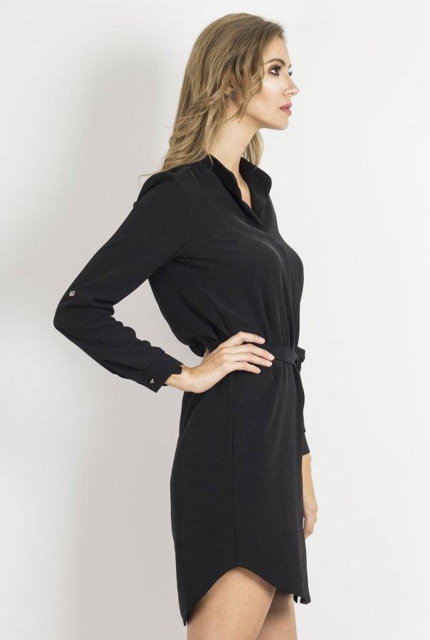 Sukienki AMARA-CZARNY