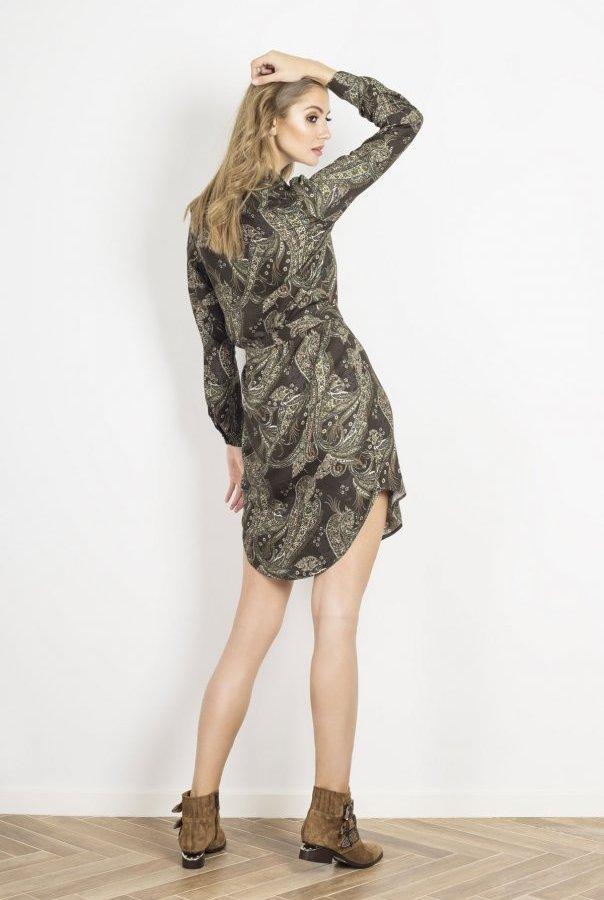 Sukienki AMARA-ZIELONY