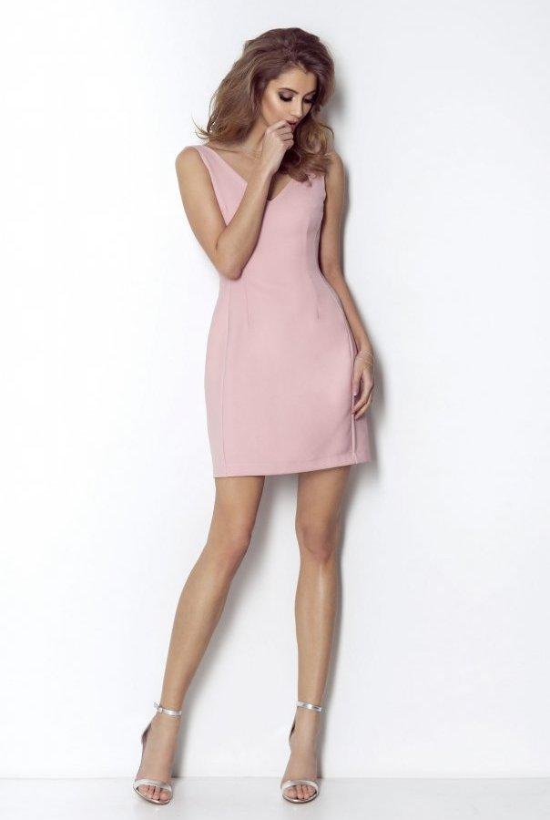 Sukienki APRIL-RÓŻOWY