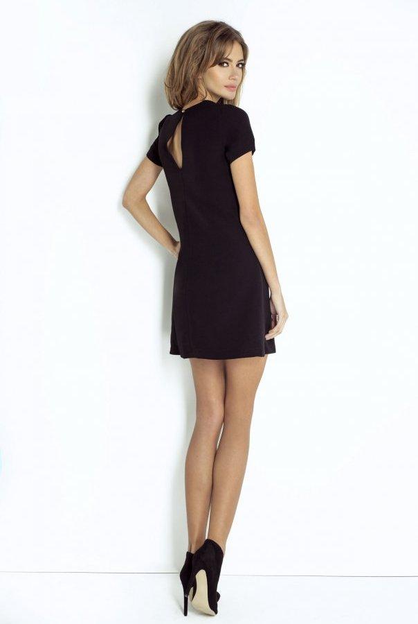 Sukienki LAURA-CZARNY