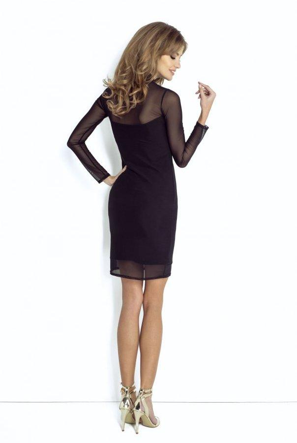 Sukienki NATASHA-CZARNY