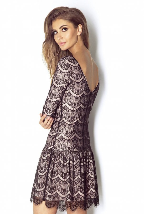 Sukienki QUEEN-RÓŻOWY
