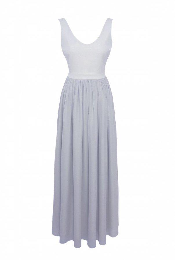 Sukienki 219-SZARY
