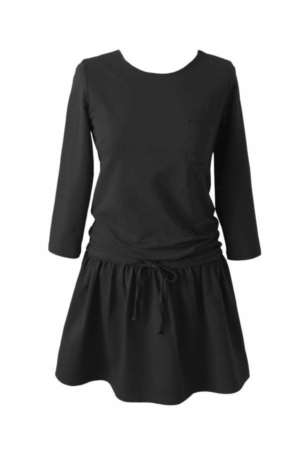 Sukienki 211-CZARNY
