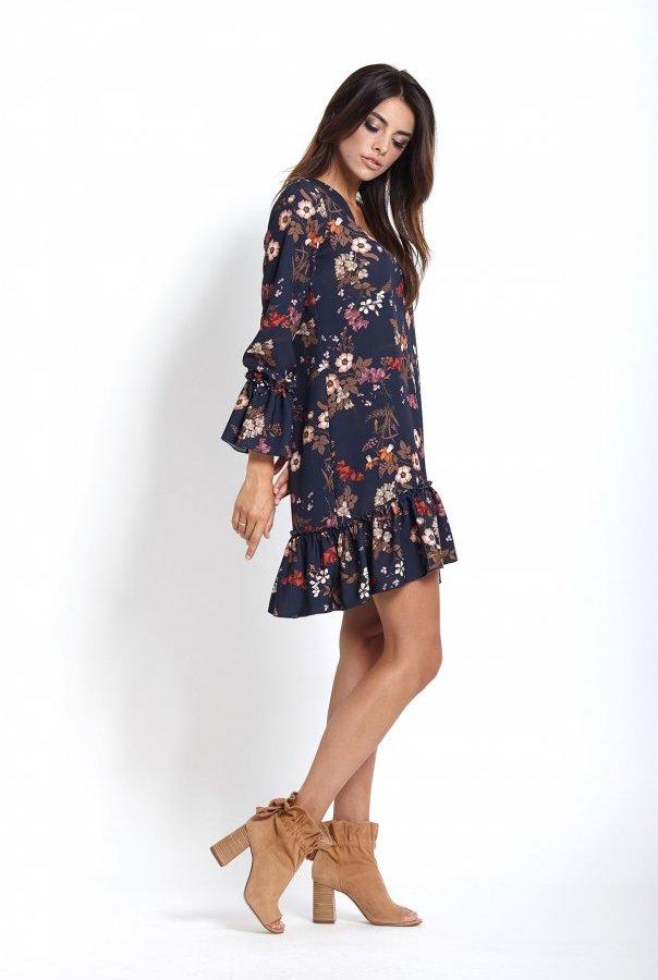 Sukienki 223-KWIATY