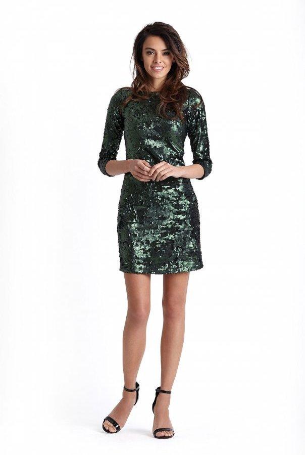 Sukienki 228-ZIELONY