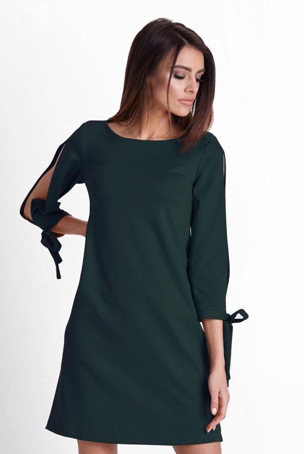 Sukienki 246-ZIELONY