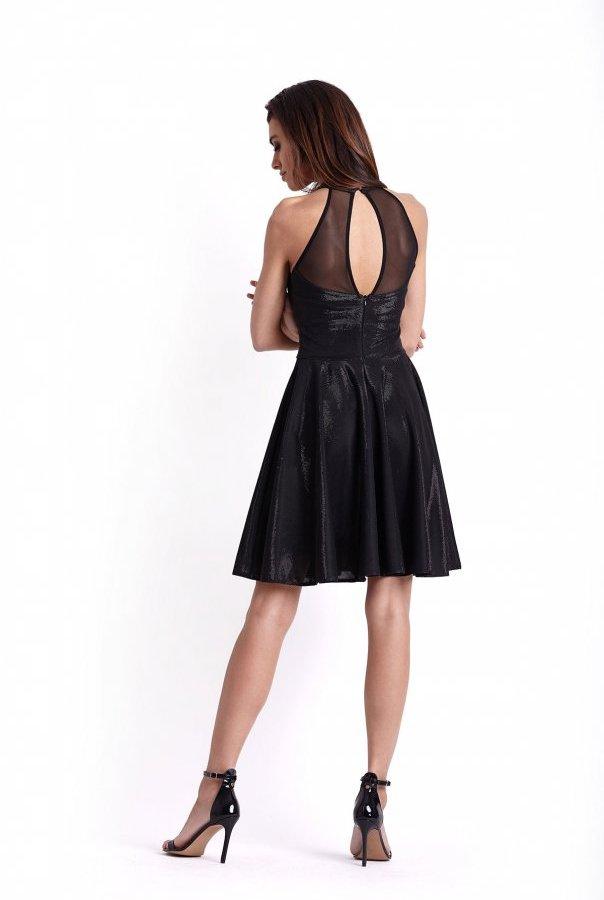 Sukienki 237-CZARNY_BŁYSK