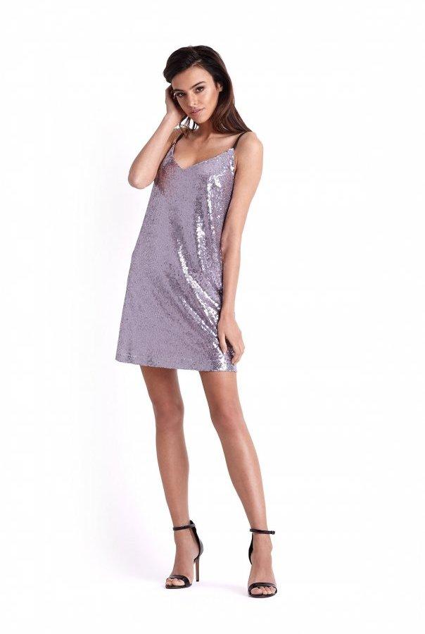 Sukienki 235-LILIOWY