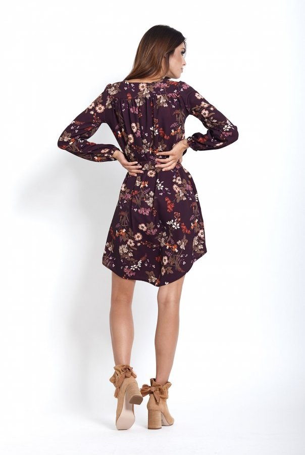 Sukienki 222-KWIATY
