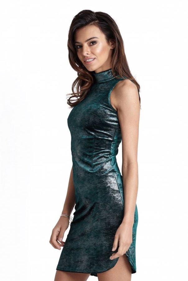 Sukienki 227-ZIELONY