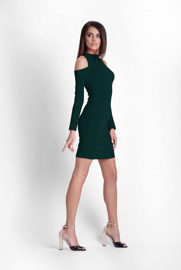 Sukienki 243-ZIELONY