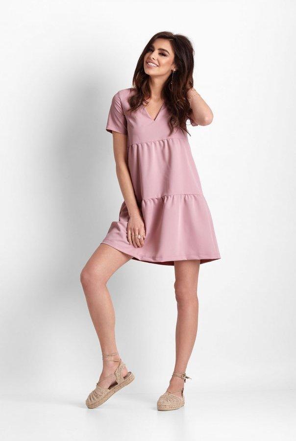 Sukienki 262-RÓŻ