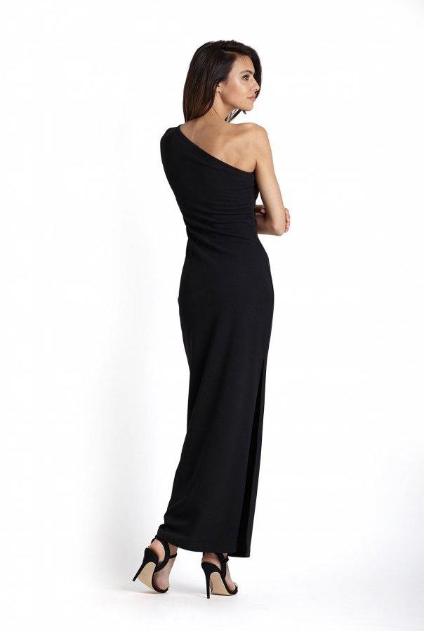 Sukienki 232-CZARNY