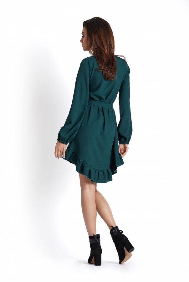 Sukienki 224-ZIELONY