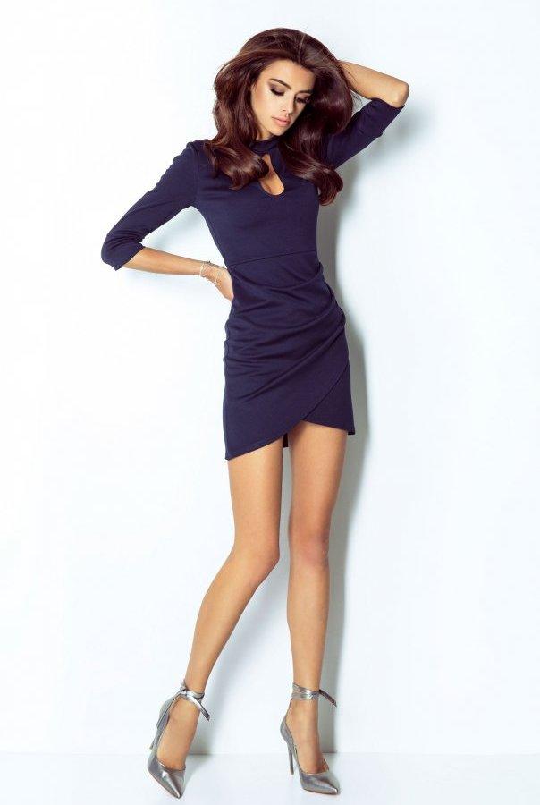 Sukienki 210-GRANAT