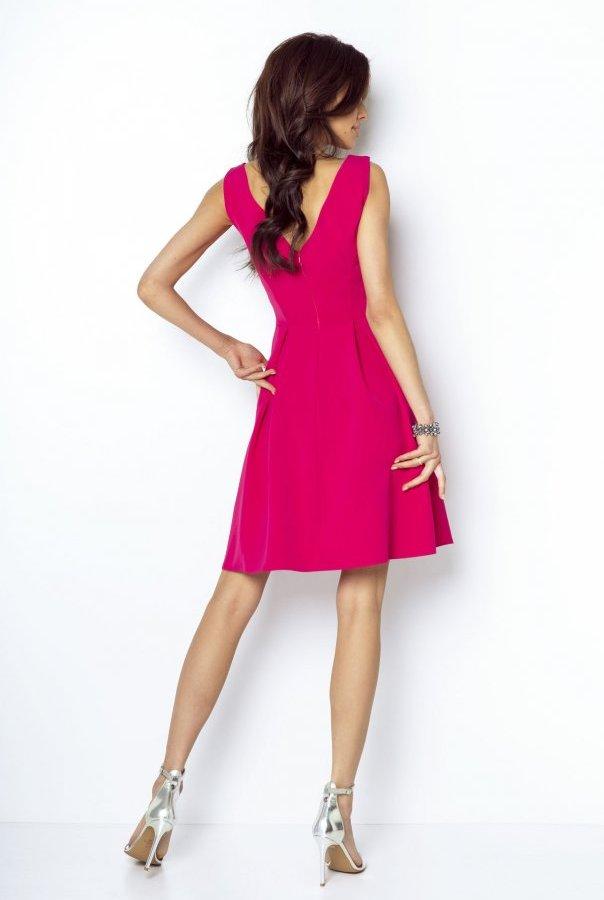Sukienki 215-FUKSJA