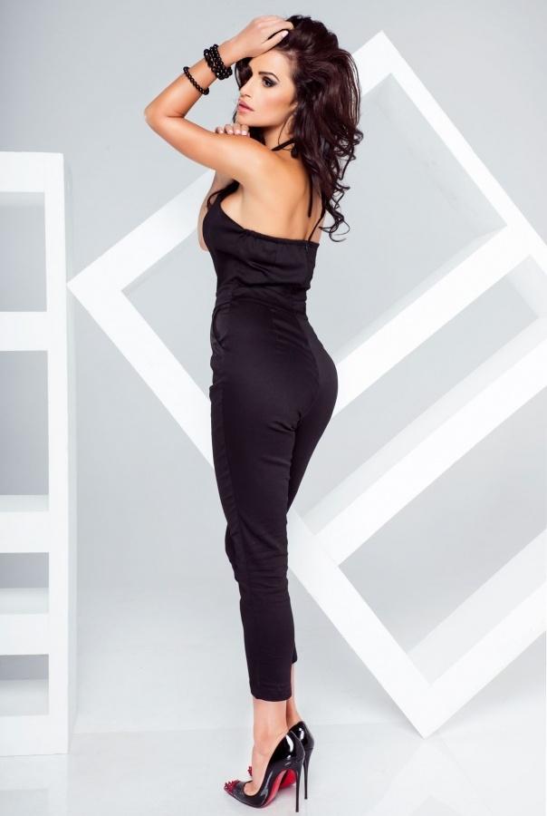 Spodnie T04-CZARNY