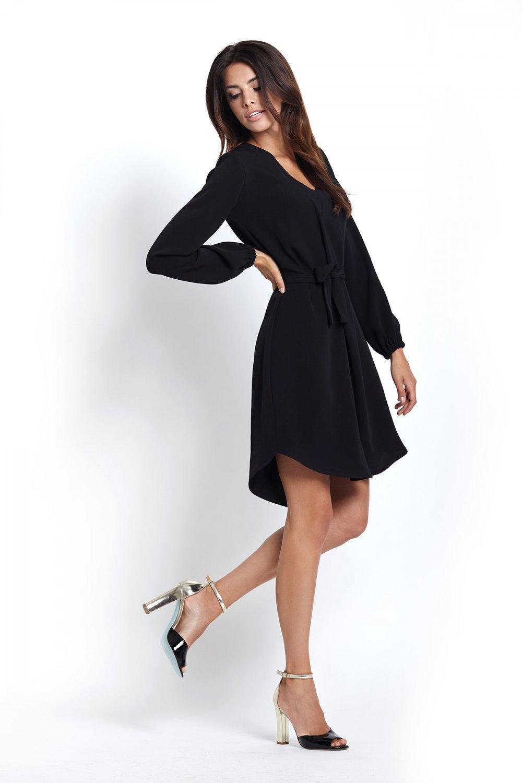 6e62fe1122 Sukienki   222-CZARNY