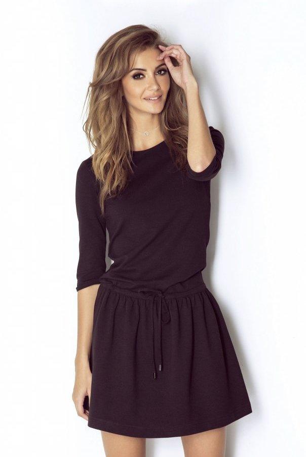 Sukienki NATHALIE-CZARNY