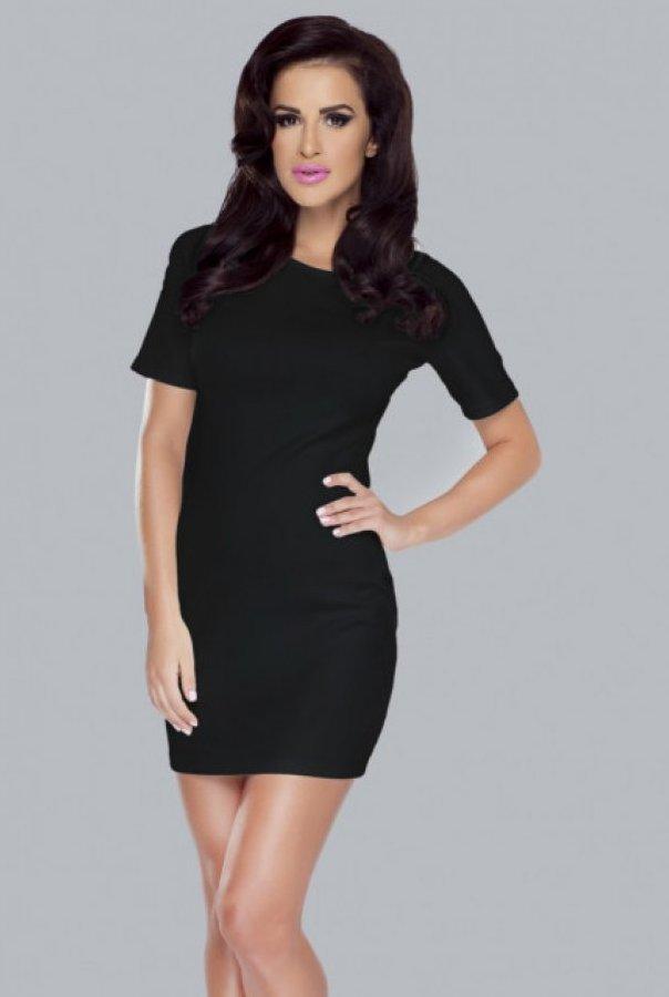 Sukienka Whitney 188-CZARNY