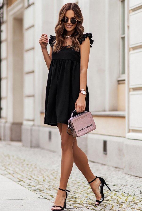 Sukienka NOEL 303-CZARNY