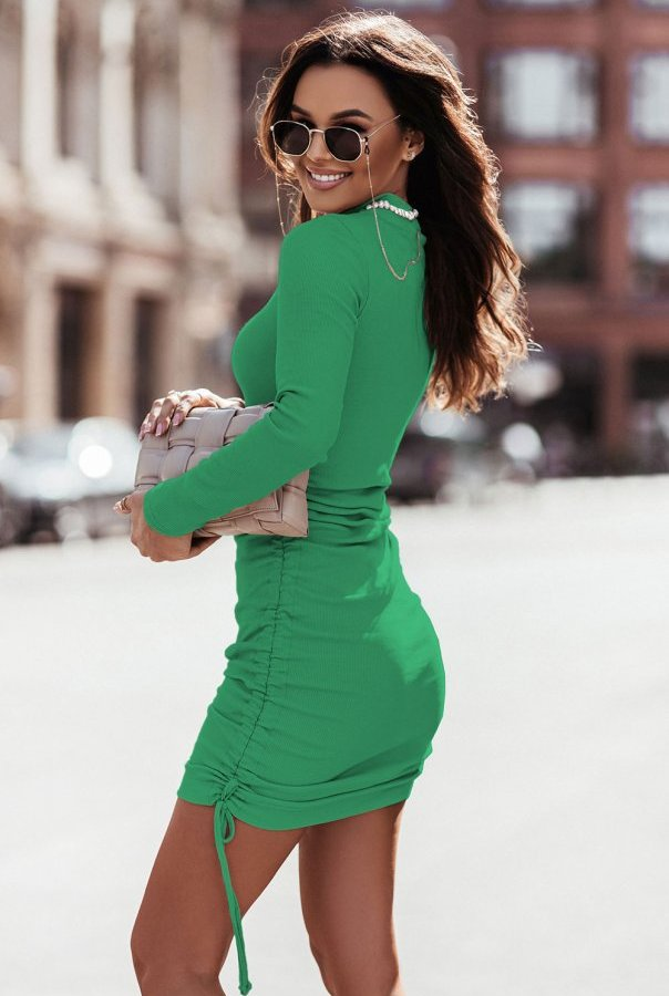 Sukienka NASTIA 314-GREEN