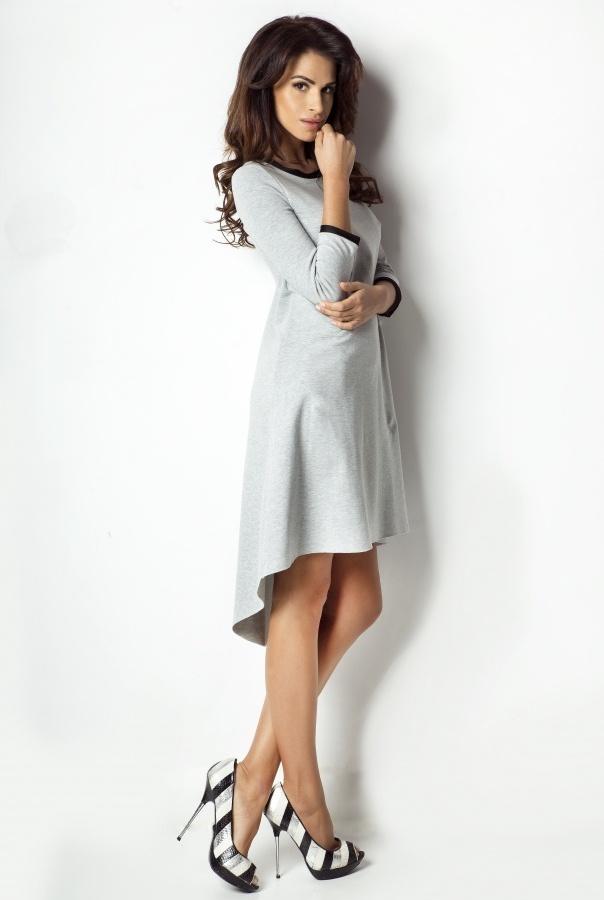 Sukienki D1-CZARNY